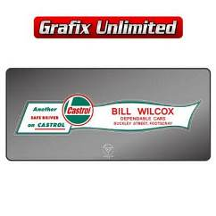 Dealership Decal, Bill Willcox Dependable Cars