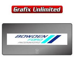 Dealership Decal, Bowden Ford Pacemakers