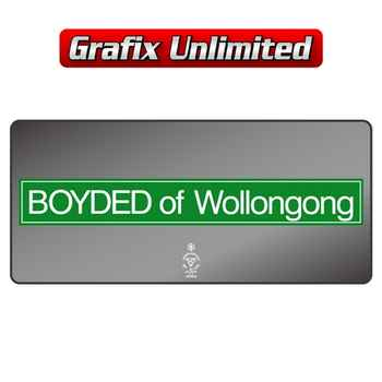 Dealership Decal, Boyded of Wollongong