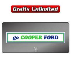 Dealership Decal, Cooper Ford