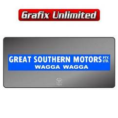 Dealership Decal, Great Southern Motors