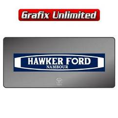 Dealership Decal, Hawker Ford Nambour