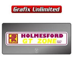 Dealership Decal, Holmes Ford