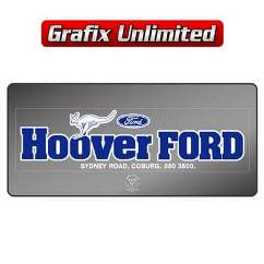 Dealership Decal, Hoover Ford