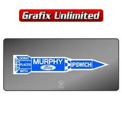 Dealership Decal, Murphy Ford Ipswich