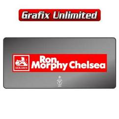 Dealership Decal, Ron Morphy Chelsea