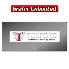 Dealership Decal, Tickford Performance driven by passion