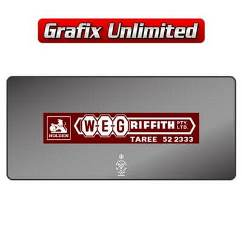 Dealership Decal WE Griffith Taree