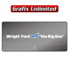 Dealership Decal, Wright Ford