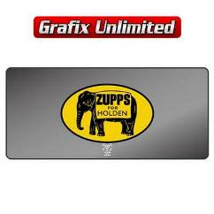 Dealership Decal, Zupps For Holden