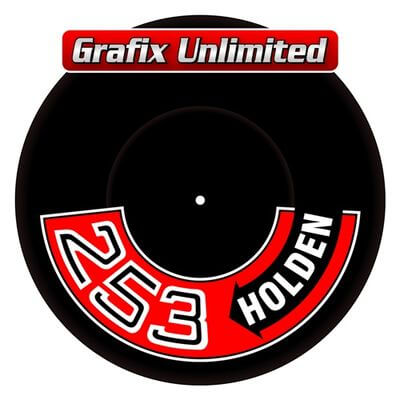 Aircleaner Decal 253 Holden