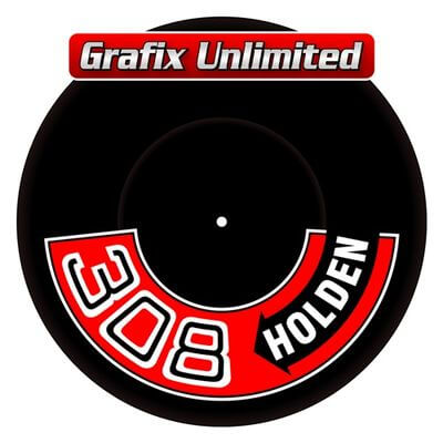 Aircleaner Decal 308 Holden