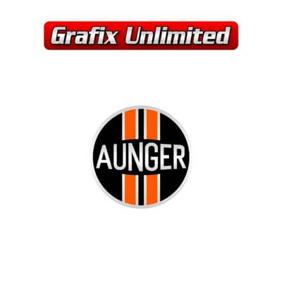 Aunger Wheel Cap decal 38mm Early Style