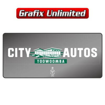 Dealership Decal City Autos Toowoomba
