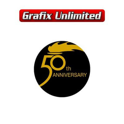 Holden 50th Anniversary Decal