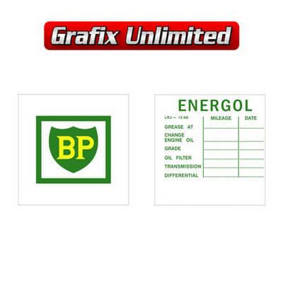 Lube Decal BP Energol