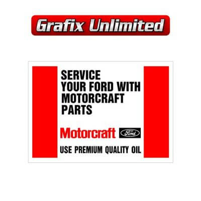 Pre Delivery Floor Matt Motorcraft