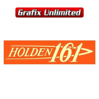 Rocker Cover Decal 161 Holden