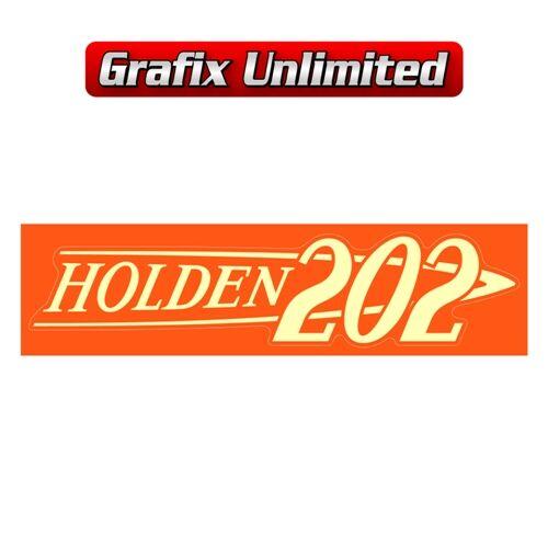Rocker Cover Decal 202 Holden