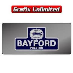 Dealership Decal, Bayford Preston 1985 - 1995
