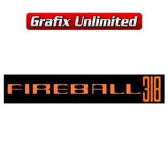 Aircleaner Decal, Fireball 318