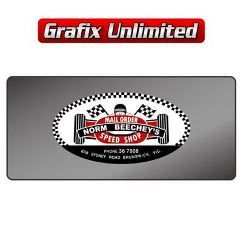 Dealership Decal, Norm Beecheys Speed Shop Mail Order 2