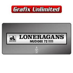 Dealership Decal, Loneragans Mudgee