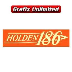 Rocker Cover Decal, 186 Holden