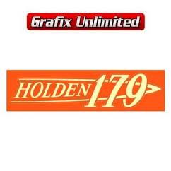 Rocker Cover Decal, 179 Holden