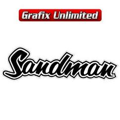 Sandman Decal, Black
