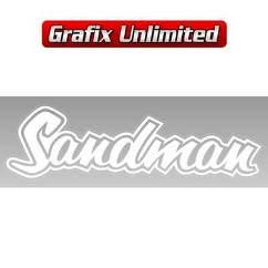 Sandman Decal, White