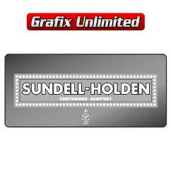 Dealership Decal, Sundell Holden Chatswood Newport