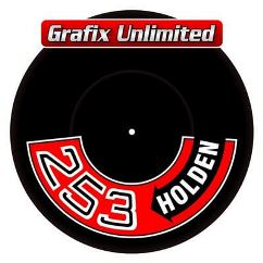 Aircleaner Decal, 253 Holden