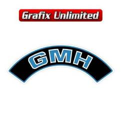 Aircleaner Decal, GMH Blue 6 Cylinder