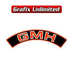 Aircleaner Decal, GMH Red 1976 - 1978