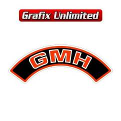Aircleaner Decal, GMH Red 1978 - 1980