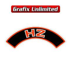 Aircleaner Decal, HZ 6 Cylinder