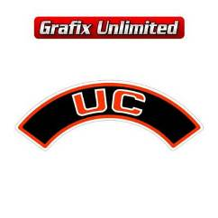 Aircleaner Decal, UC Red 6 Cylinder