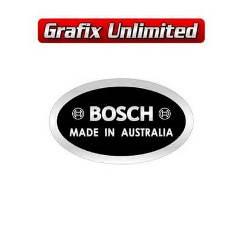 Alternator Decal, Bosch