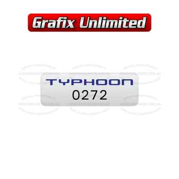 BA BF Typhoon FPV Build Number