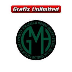 Battery Decal, GMH