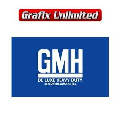 Battery Decal, GMH Delux Heavy Duty