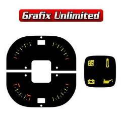 Dash Gauge Decals, LX Fuel, Temp, Oil, Battery