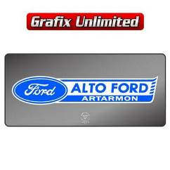 Dealership Decal, Alto Ford Artarmon