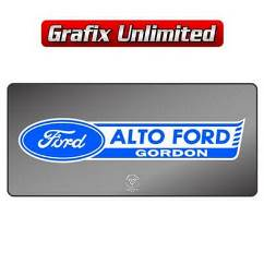 Dealership Decal, Alto Ford Gordon
