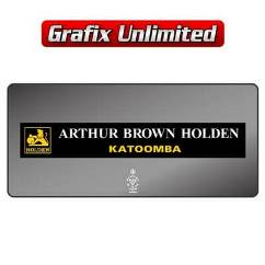 Dealership Decal, Arthur Brown Holden