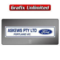 Dealership Decal, Askews Pty Ltd