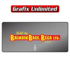 Dealership Decal, Balmain Bros of Bega