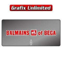 Dealership Decal, Balmains of Bega