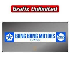 Dealership Decal, Bong Bong Motors